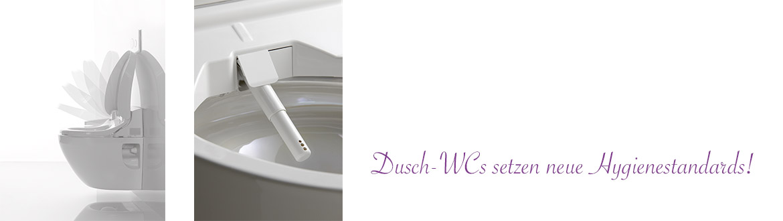 Dusch-WCs setzen neue Hygiene-Maßstäbe-