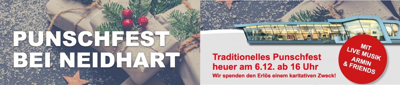 Traditionelles Punschfest heuer am 6.12. ab 16 Uhr-Punschfest bei Neidhart