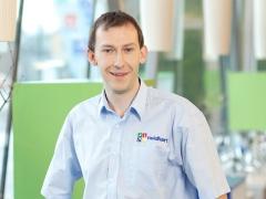 Markus Renner, Elektrotechniker bei der Firma Neidhart