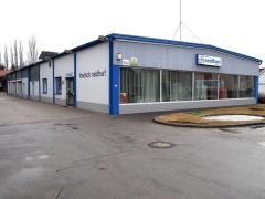Firmengebäude Linzer Straße im Jahr 2006