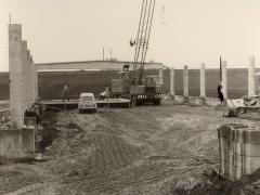 1967 beginnen die Bauarbeiten am neuen Standort Linzer Straße